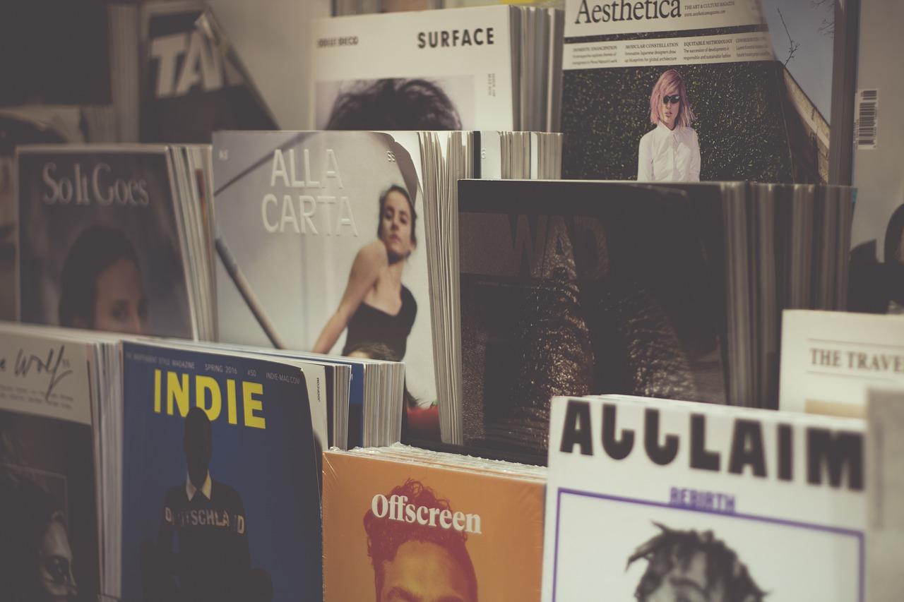 music, magazine, journalism